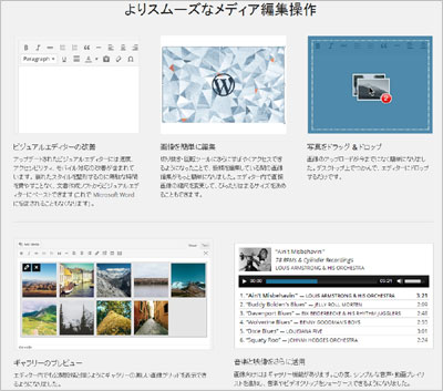 WordPress 3.9 日本語版がリリース